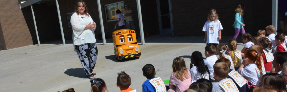 94cde4c356 Broken Arrow Public Schools - Buster - School Bus Safety Program